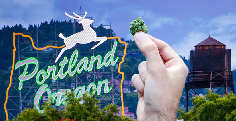 portland oregon marijuana culture